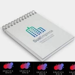 Título do anúncio: Blocos de notas / serviços gráficos