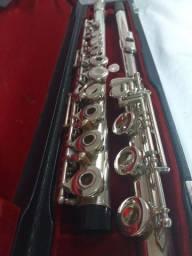 Flauta transversal Pearl 501rbe pé em SI japan