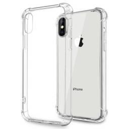 Capinha Capa Silicone Anti-Choque iPhone X