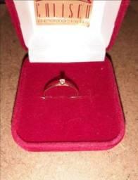 Título do anúncio: Solitário de ouro com Diamante