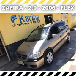 Zafira Comfort - 2.0 - 2006 - Flex - Carro impecável!!!