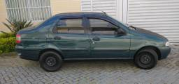 Fiat/ Siena EL1.6 16V 4 Portas 1998 Verde Gasolina