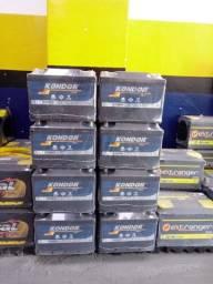 Título do anúncio: Bateria Kondor 60Ah com 12 Meses de Garantia
