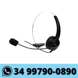 Fone Headset p/ Telemarketing Telefone Call Center