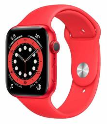Apple Watch (GPS) Series 6 red 44mm de alumínio