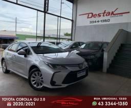 Toyota Corolla Aut. 2021 (Apenas 3.000 km)
