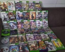 Jogos original de Xbox 360 e Ps3
