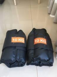 Título do anúncio: Par de caneleiras 10kg