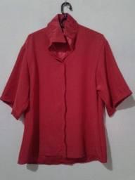 Título do anúncio: Blusa rosa chock