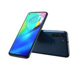 Motorola Moto Ge8 Power 64GB 6,4? Câmera Quádrupla 16MP 8MP 8MP 2MP Frontal 16MP Azul