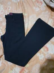Calça jeans flare desapego