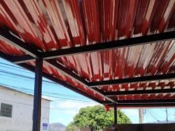 Estrutura metálica terraço R$75,00m2