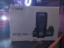 Camera Canon 70D (japonesa*)