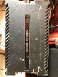 Amplificador automotivo Banda Viking 5000