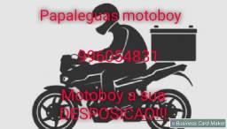Motoboy a disposição