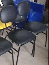 Cadeira preta escritório