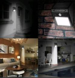 Título do anúncio: Luminária 20 Leds Solar de Parede 6w prova D'água com Sensor De Movimento Presença