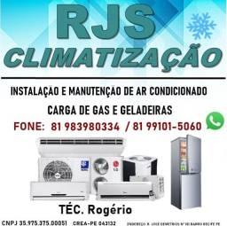Título do anúncio: RJS Climatização