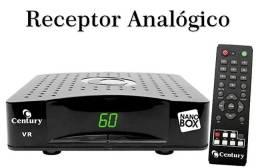 Receptor Analógico Century Nanobox, para antenas parabólicas (enviamos para Interior)