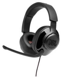 Headset Gamer JBL Quantum 300, Drivers 50mm, Preto - Loja Fgtec Informática