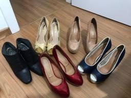 5 pares de sapato