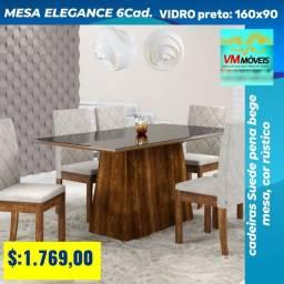 Mesa Elegance ENTREGA GOIÂNIA E APARECIDA