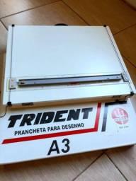 Prancheta para desenho A3 Trident