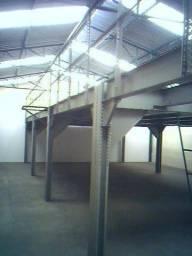 Mezanino de Aço 40m2 com Escada