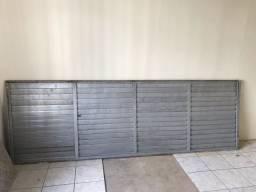 Portão de alumínio 3 X 1