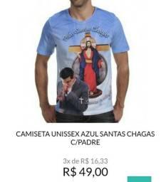 Camisetas Jesus das Santas Chagas