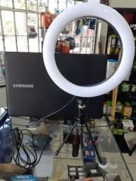 Ring Light Novo 20cm de diâmetro ótimo para fotos e vídeos