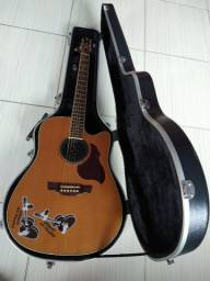 Vende-se Violão Crafter com Case Modelo DE7/N Made in corea