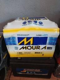 Bateria Moura 90 ah selada com 15 meses de garantia