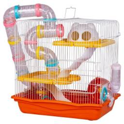 Título do anúncio: Gaiola Completa Para Hamster Estilo Safari Tamanho Gigante usada