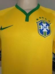 Camisa Seleção Brasileira Futebol 2014 Oficial