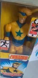 Boneco Gladiadiador Dourado Mattel Dc Comics - 30cm Importad