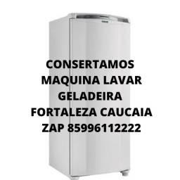 Título do anúncio: Consertamos geladeira fortaleza e caucaia zap *22