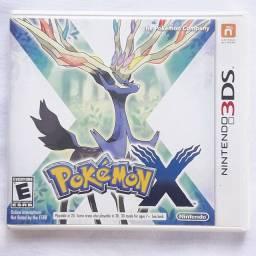 Pokémon X - semi-novo - 3ds