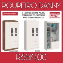 Roupeiro Danny Multiuso 659