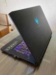 "Notebook Gamer Acer Predator Triton 500 16gb 512gb 15,6"" Rtx2070 144Hz"