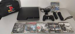 Playstation 3 Slim 500 Gb+ Kit PSMove