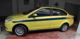 Táxi (Carro com Autonomia) Grand Siena 14/15 Tetrafuel 1.4 Flex/GNV Completo
