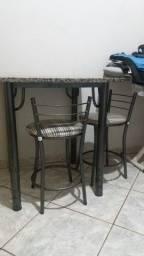 Mesa com banqueta novo