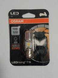Lâmpada LED Osram Para Motocicletas, aceito CARTÃO