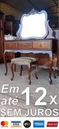 Dormitório Antigo Estilo Luís XV Completo (Raridade)