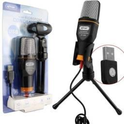 Microfone Knup KP-917 condensador omnidirecional