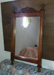 Título do anúncio: Espelho em madeira
