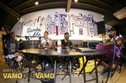Samba Pocket/Pagode Ao Vivo Pacotes grupo Com Som