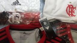Camisa adidas oficial 1 e 2 flamengo R$ 190,00