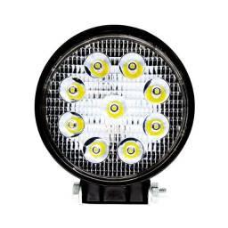 Farol de LED Trator/ Caminhao 27w 12/24v